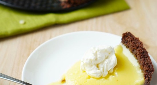 Лимонный-пирог-без-выпечки
