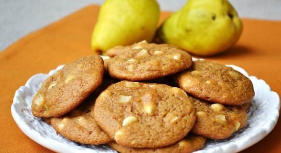 white-choc-chip-pear-pumpkin-cookies
