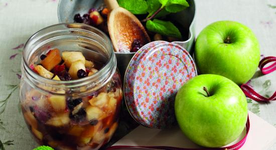 Minted-apple-Chutney
