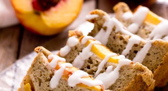 Ginger-Peach-Cobbler-Bread-with-Coconut-Glaze-04