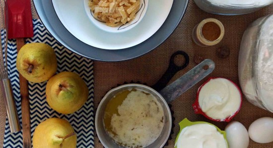 Ginger-Pear-Muffin-Ingredients
