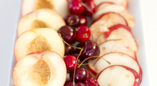 cherry-and-peach-prep