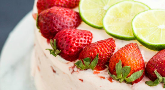 Strawberry-Lime-Cake