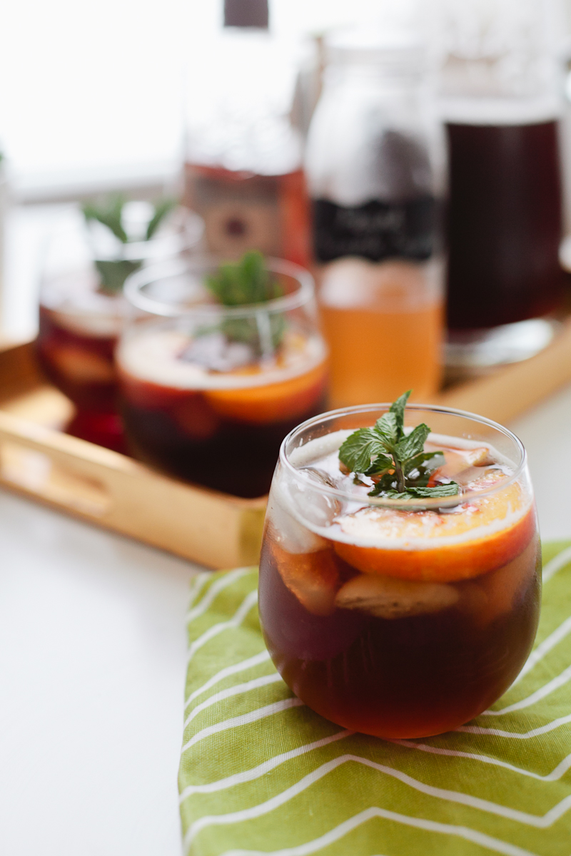 Tangiers: Peach Cobbler, Peach Iced Tea, Cane Mint — Миксы ...